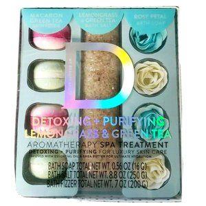 GREEN TEA Lemongrass Aromatherapy Spa Gift Set NIB